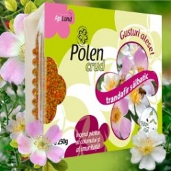 Polen crud de trandafir salbatic 250g BIO - Apiland