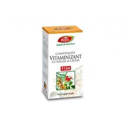 Vitaminizant cu măceșe si cătină - 60 cpr