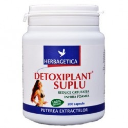 Detoxiplant Suplu 200 cps - Herbagetica