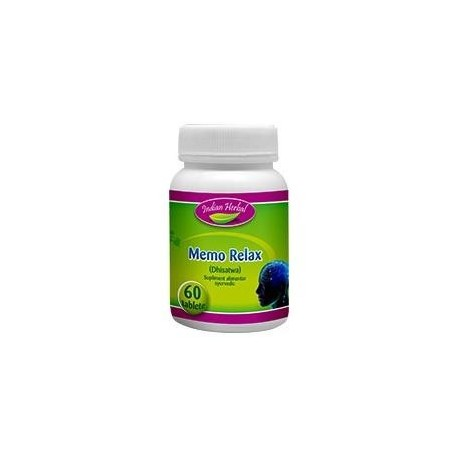 Memo Relax 60 tb - Indian Herbal