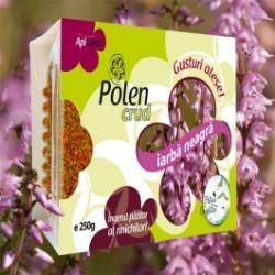 Polen crud iarba neagra 250g BIO - Apiland