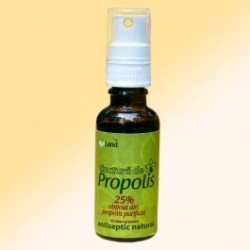 Tinctura de propolis purificat 95% spray - Apiland