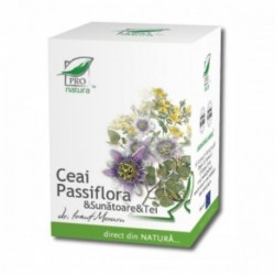 Ceai Passiflora & Sunatoare & Tei x 20 doze - Pro Natura