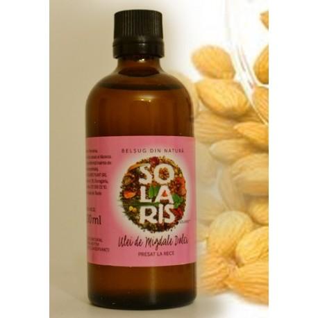 Ulei de migdale dulci 100 ml Solaris