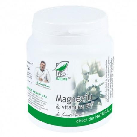 Magneziu & Vitamina B6 x 150 comprimate - Pro Natura
