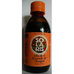 Ulei din Seminte de Canepa 200 ml Solaris