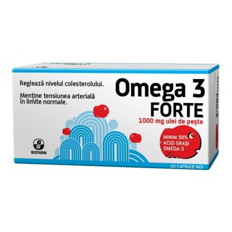 Omega 3 Forte 60cps - Biofarm