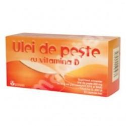 Ulei de peste cu Vitamina D - Biofarm