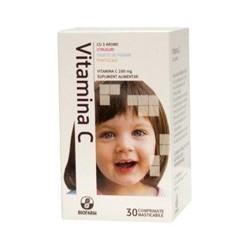 Vitamina C 3 arome 20 cpr - Biofarm