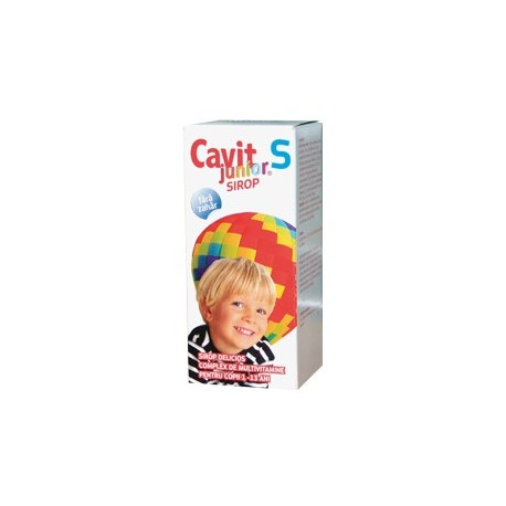 Cavit Junior S Sirop 100 ml - Biofarm