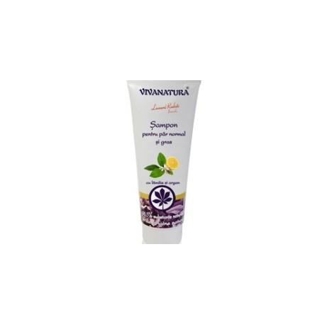 Șampon pentru păr normal şi gras - VivaNatura