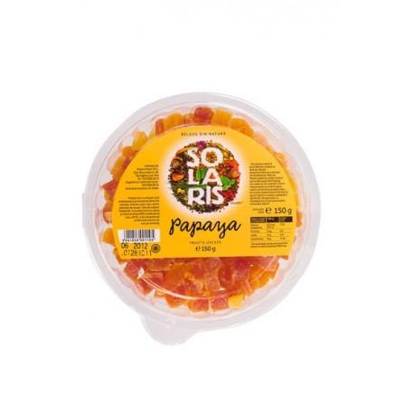 Fructe uscate - Papaya 150g - Solaris