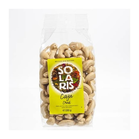 Fructe crude - Caju crud 150g - Solaris