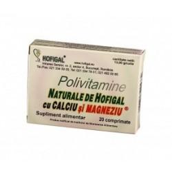 Polivitamine naturale cu Ca si Mg - Hofigal