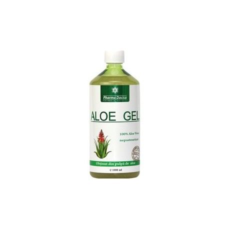 Aloe Gel 1000 ml - Pharma Dacica Plus