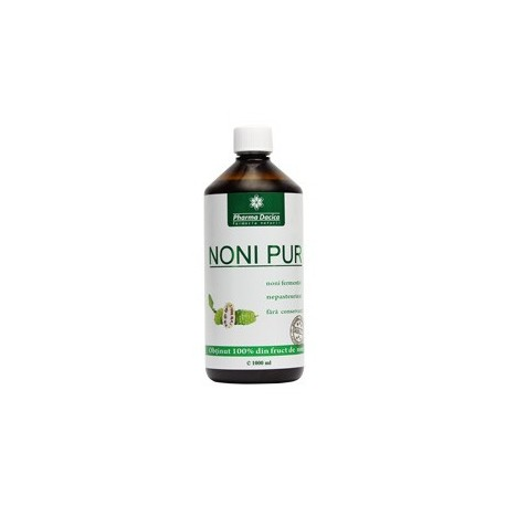 Noni pur 1000 ml - Pharma Dacica Plus